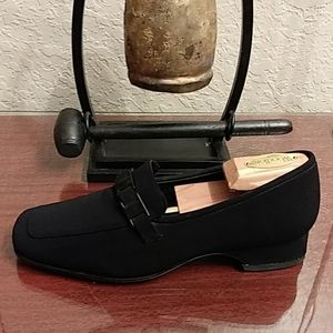 ANTONIO MELANI  Glove Fit Slip On Horsebit Loafers